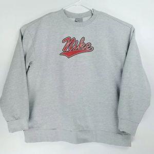 Nike Vintage Gray Tag Mens XXL Crewneck Sweater